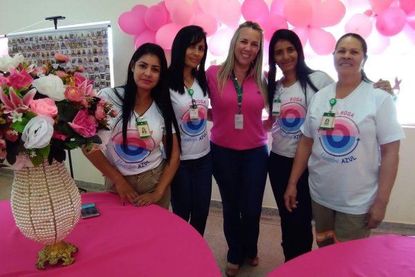 Juntas na luta contra o Câncer de Mama!